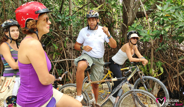 Bicycle Tour in Playa del Carmen